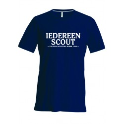 T-Shirt KM Iedereen Scout - kids 6-8